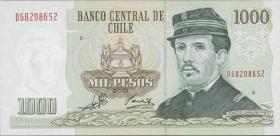 Chile P.154f 1000 Pesos 2001  (1)