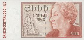 Chile P.155f 5000 Pesos 2001 (2+)
