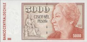 Chile P.155g 5000 Pesos 2008  (1)
