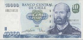Chile P.157c 10000 Pesos 2008 (1)