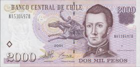 Chile P.158 2000 Pesos 2001 (1)