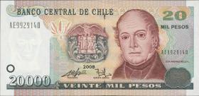 Chile P.159c 20000 Pesos 2008 (1)