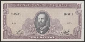 Chile P.136 1 Escudo (1964) (1)