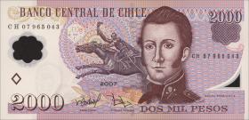 Chile P.160b 2000 Pesos 2007 Polymer (1)