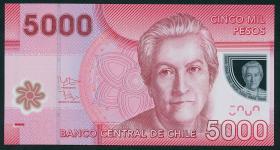 Chile P.163c 5000 Pesos 2012 Polymer (1)