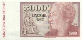 Chile P.155e 5000 Pesos 1996 (1)