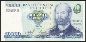 Chile P.157c 10000 Pesos 2004 (1)