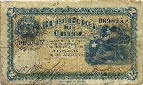 Chile P.059 2 Pesos 1925 (4)