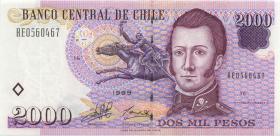 Chile P.158 2000 Peso 1999 (2)