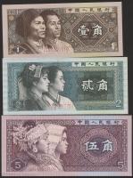 China P.881-83 1- 5 Jiao 1980 (1)