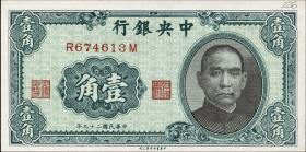 China P.226 10 Cent 1940 Central Bank (1)