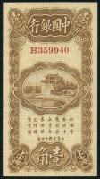 China P.063 10 Cents 1925 Bank of China (1)