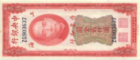 China P.340 2000 Customs Gold Units 1947 Central Bank (1)