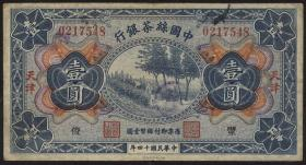 China P.A120Ab 1 Dollar 1925 Tientsin Silk & Tea Industrial Bank (3)