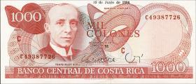 Costa Rica P.259b 1000 Colones 1994 (1)