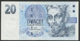 Tschechien / Czech Republic P.10b 20 Kronen 1994 (2)