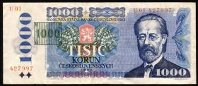 Tschechien / Czech Republic P.03b 1000 Kronen (1993) (3)