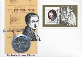 D-003 • Heinrich Kleist, 200. Geburtstag