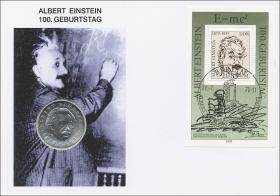 D-008.b • 100.Geburtstag Albert Einstein 2.Auflage