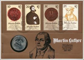 D-017 • Martin-Luther-Ehrung der DDR