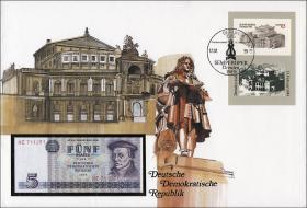 D-028 • DDR Semperoper (Banknotenbrief)