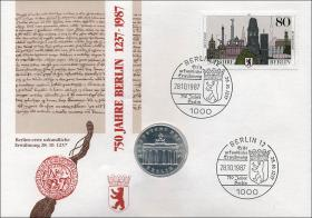 D-050 • 750 Jahre Berlin 1237-1987
