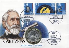 D-057 • Carl Zeiss - 100. Todestag