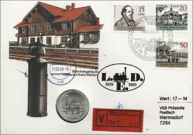 D-061.W • Eisenbahn >Wertbrief<