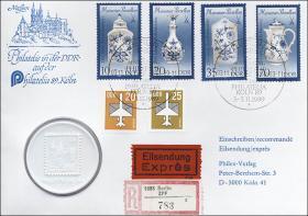 D-070 • Philatelia Köln 1989