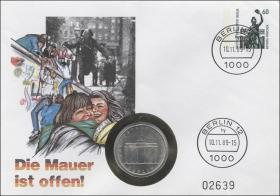 D-072 • Die Mauer ist offen >Berlin<