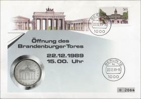 D-074.b • Öffnung Brandenburger Tor
