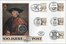D-088 • 500 Jahre Post - Kaiser Maximilian