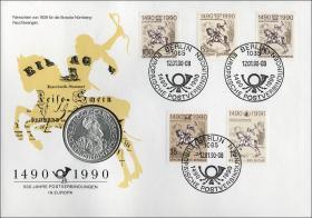 D-090.a • 500 Jahre Postverbindungen in Europa