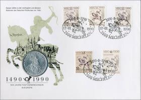 D-090.b • 500 Jahre Postverbindungen in Europa