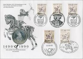 D-090.c • 500 Jahre Postverbindungen in Europa