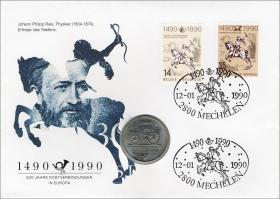 D-091.d • 500 Jahre Postverbindungen in Europa
