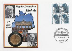 D-111.a • 17.6.1990 Tag der Deutschen Einheit