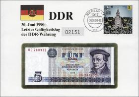 D-112 • Letzte Gültigkeit der DDR-Währung
