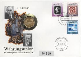D-117 • Währungsunion 1.7.1990