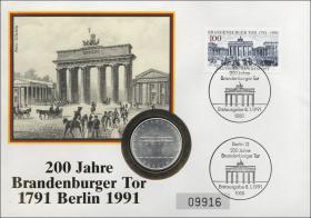 D-135 • Brandenburger Tor - 200 Jahre