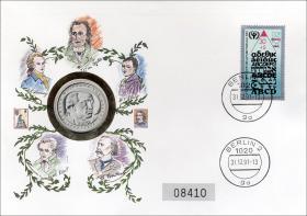 D-161.b • Deutsche Dichter >Goethe<