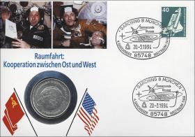 D-218 • Raumfahrt Kooperation Ost-West