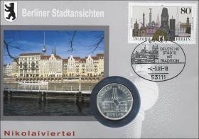 D-237 • Berliner Stadtansichten - Nikolaiviertel
