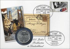 D-246 • Postkarten in Deutschland - 125 Jahre