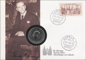 D-248 • Thomas Mann - Ehrenbürger von Lübeck