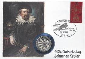 D-249 • Johannes Kepler - 425. Geburtstag