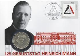 D-254 • Heinrich Mann - 125. Geburtstag