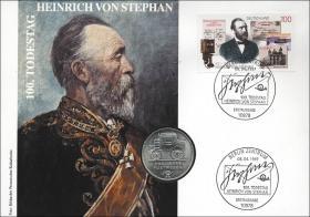 D-262 • 100. Todestag Heinrich von Stephan