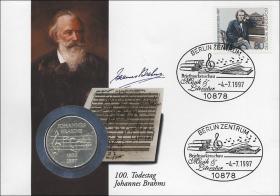D-264 • 100. Todestag Johannes Brahms