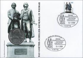 D-268 • Goethe-Schiller-Denkmal